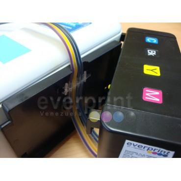 Sistema de Tinta + Servicio de Instalación para Impresoras HP (Normal). Previa Cita
