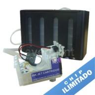 Sistema de Tinta Continua para Impresoras Epson modelos XP-201 XP-211 XP-401 Cartucho o Consumible N° 197 (4 colores)