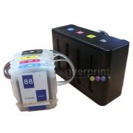 Sistema de Tinta Continua para Impresoras Hp modelos K8600 L7590 K540 Cartucho o Consumible N° 88