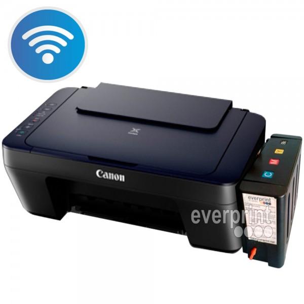 Impresora Multifuncional Canon E461 Con Sistema Tinta