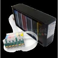 Sistema de Tinta Continua para Impresoras Epson modelos T30 C110 C120 Cartucho o Consumible N° 73 (5 colores)