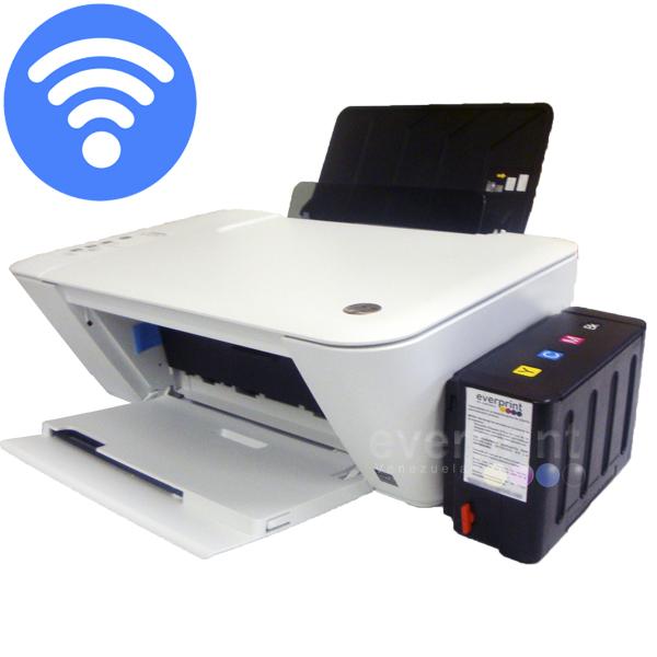 Impresora Multifuncional Wifi Hp 2545 Sistema Tinta