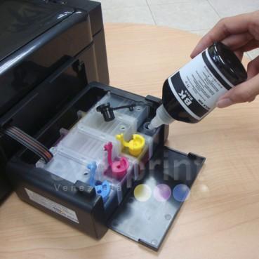 Sistema de Tinta + Servicio de Instalación para Impresoras Epson modelo t42 Cartucho o Consumible N° 140 (4 colores).  Previa Cita